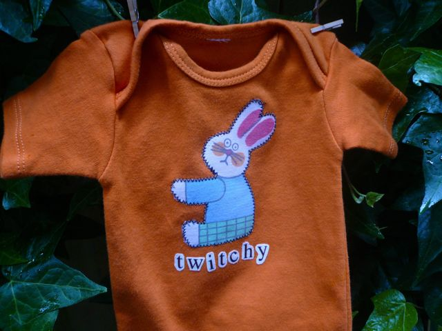 twitchy rabbit onesie